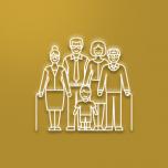 Picto représentant une famille